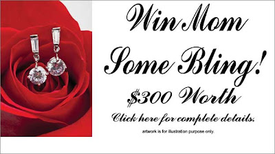 Win a $300 jewelry store gift card for your Mom on Mother's Day!