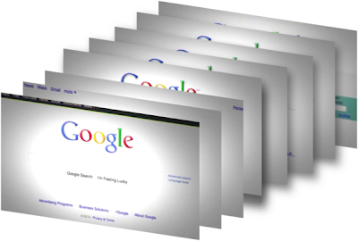 Google's Different Home Pages Stack: Intelligent Computing