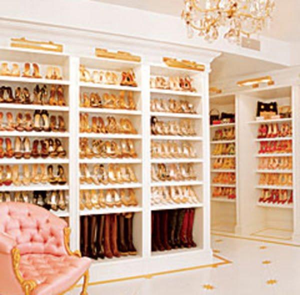 Rochelle S Life Shoe Closet