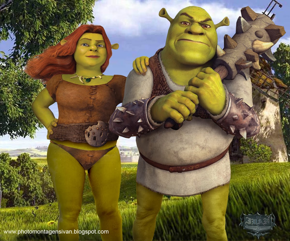 Shrek big boobs you for