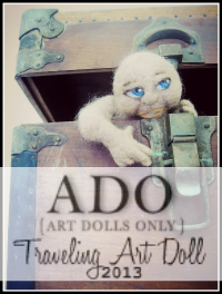 Traveling Art Doll