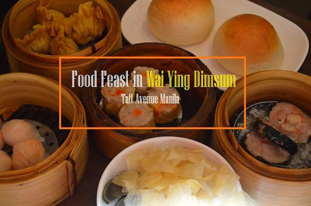 Food Feast in Wai Ying Dimsum