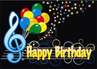 """Happy Birthday Score. Letra, acordes y partitura de  Cumpleaños Feliz. Partitura para Flauta y Tabs para tocar con Guitarra. Letra, acordes y partitura para flauta de """"Porque es un muchacho excelente"""" .."""