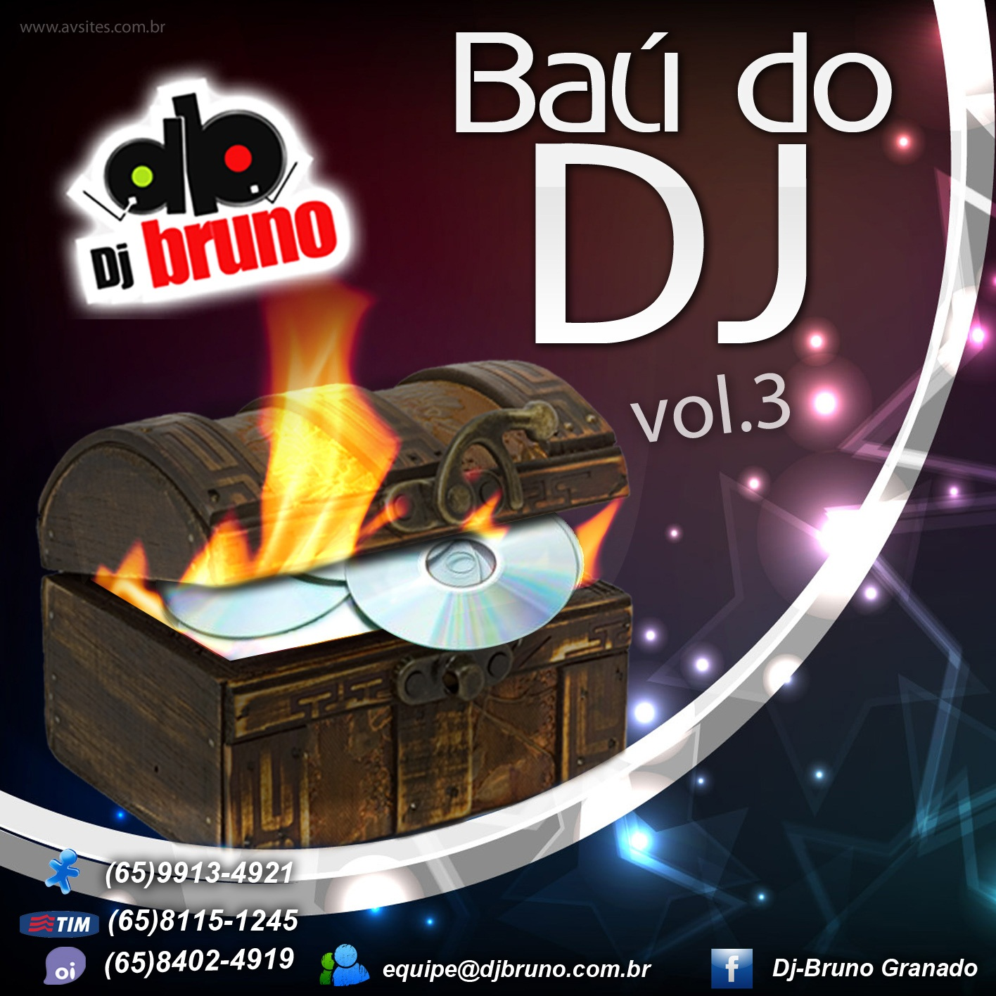 Dj Bruno Granado - Ba� do Dj Vol.03