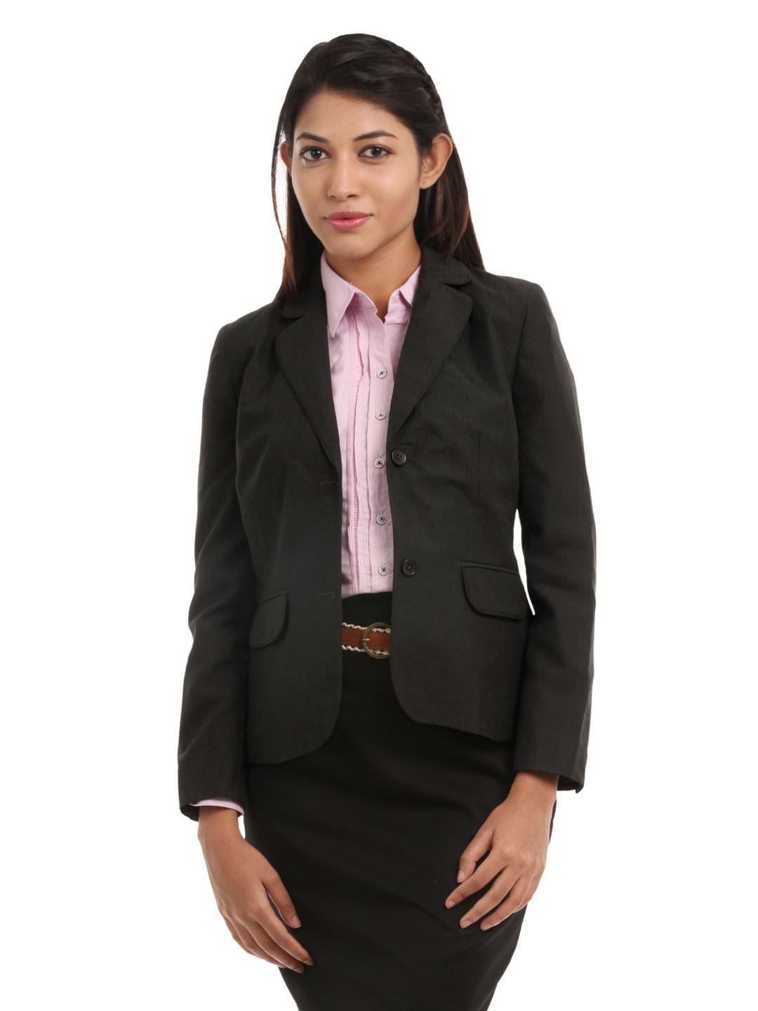 A pair of classic black slacks is an essential part of a woman's interview wardrobe. It's worth it to invest in a pair of quality black dress pants that fit well and will hold up after many wears.