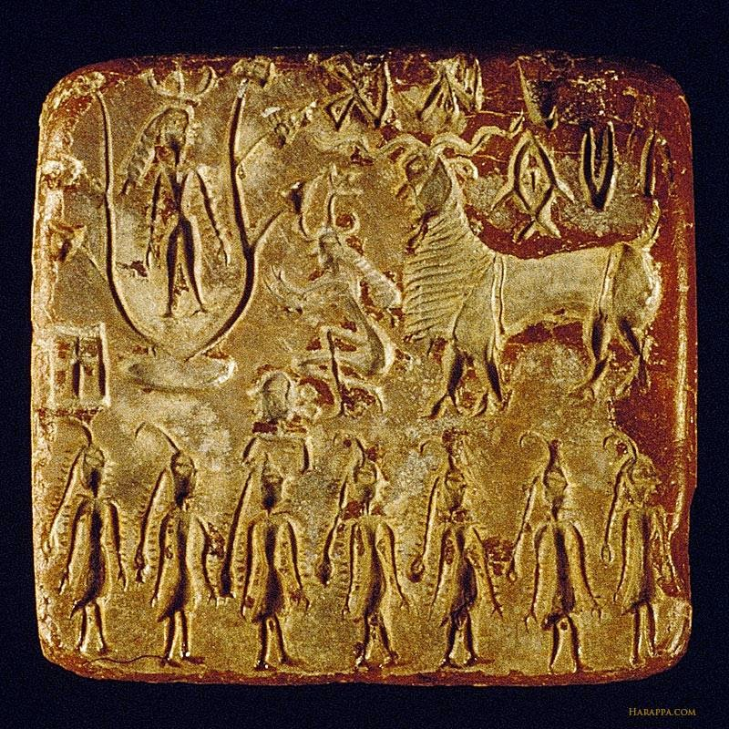 Mohenjo Daro Seals Seal From Mohenjo Daro