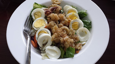 Calamari and Egg Salad
