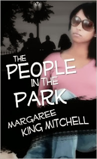 People in the Park. Young woman wearing sunglasses shown on cover.