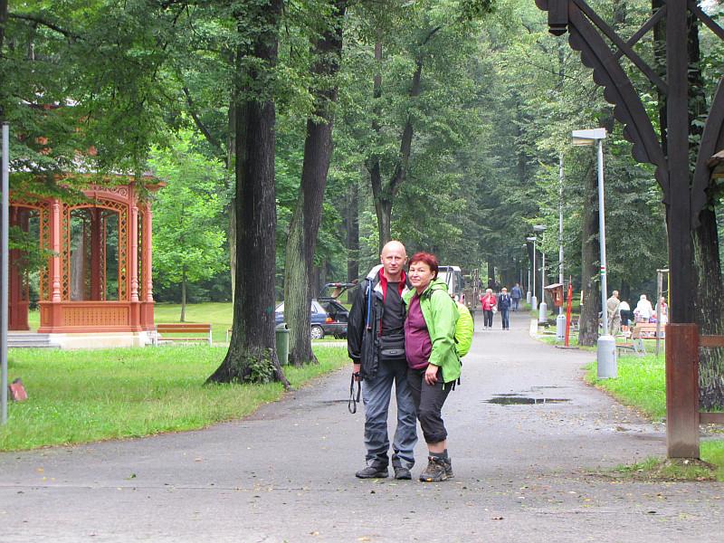 Rožnov pod Radhoštěm - park miejski.