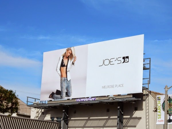 Joe's Jeans Spring 2015 billboard