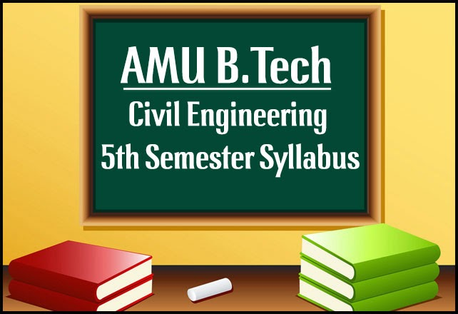 amu-btech-civil-5th-sem-syllabus