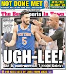 Knicks win by losing