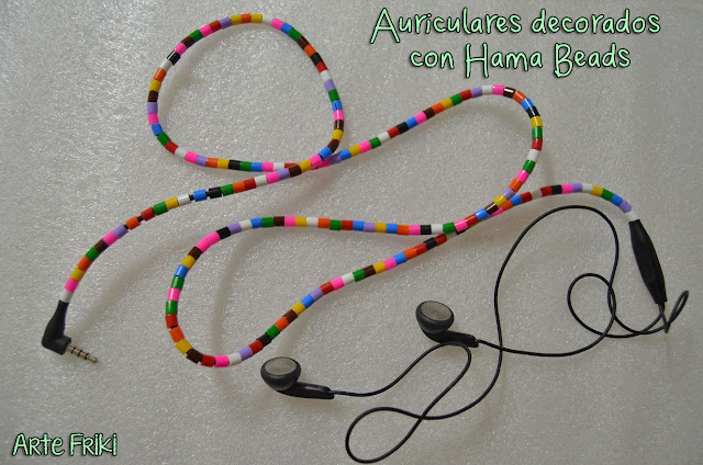 diy hama beads decorar auriculares audifonos perler beads hazlo tu mismo como hacer manualidades how to