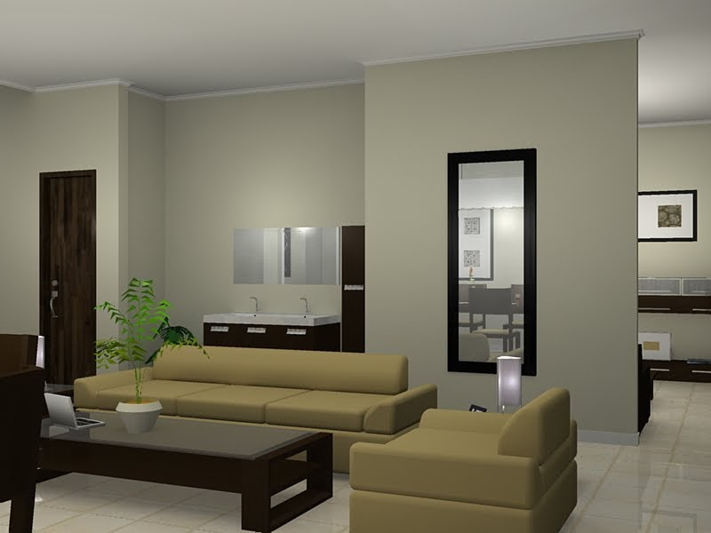 Ruang Tamu Minimalis Dan Simple | Rumah Minimalis Modern