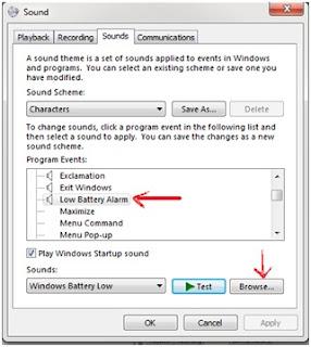 Cara Memberikan Notifikasi Batrai Habis Laptop