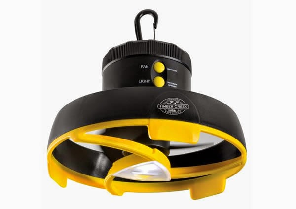 LED Camping Light and Fan