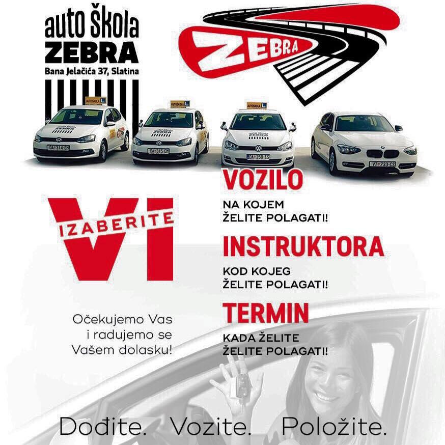 Auto škola Zebra Slatina
