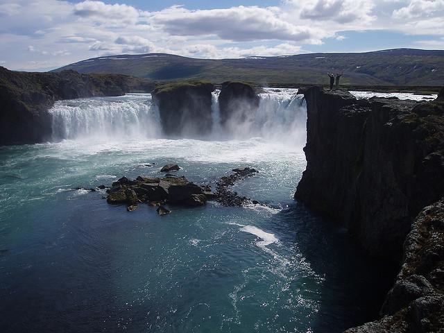 شلال Godafoss ايسلندا أروع شلالات