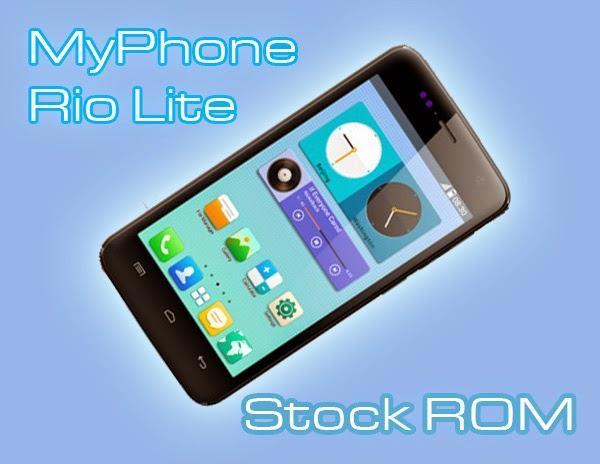 myphone rio lite stock