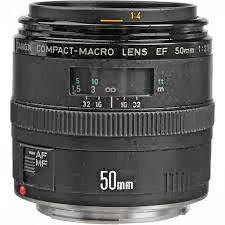 Lensa Canon EF 50mm f/2.5 Compact Macro