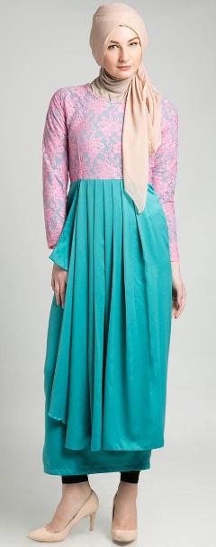 Gambar Desain Baju Muslim Trendy untuk Remaja