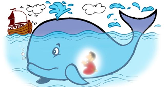 Doa Nabi Yunus saat dimakan ikan paus,