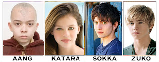 Actors from The Last Airbender
