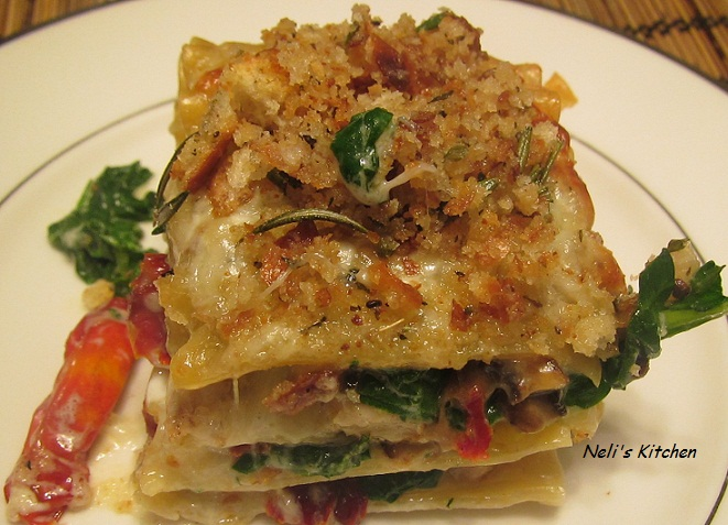 Creamy Turkey Lasagna