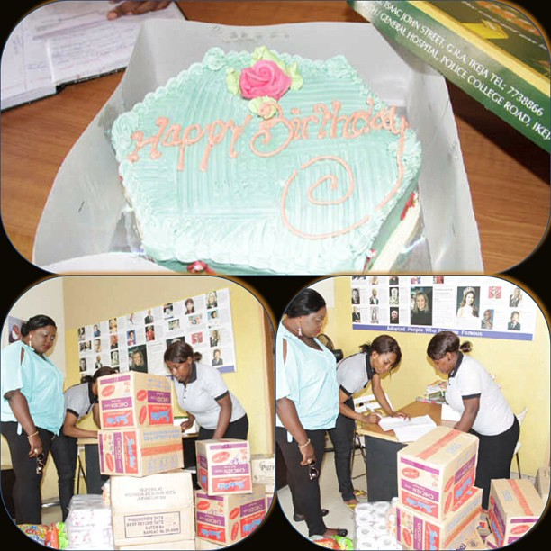 eniola badmus birthday orphanage home
