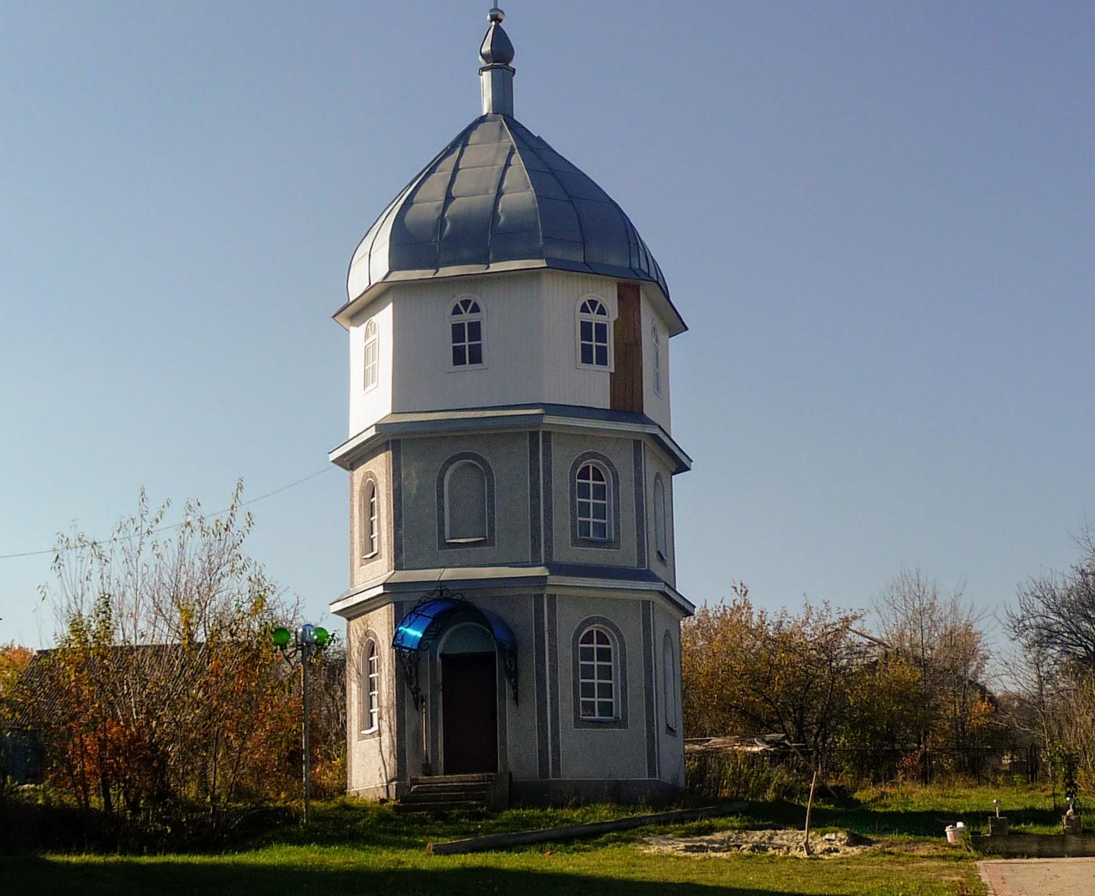 Гериня. Церква Вознесіння Господнього