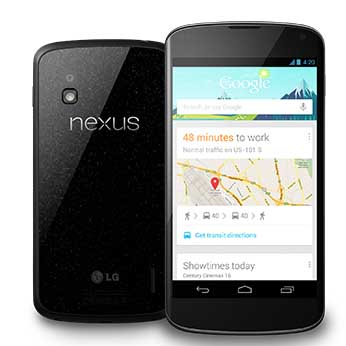 Speed and power to spare: Google Nexus 4 new latest smart phone from Google