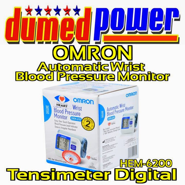 OMRON HEM-6200 Automatic Wrist Blood Pressure Monitor