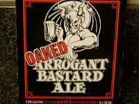 the Ripening, Gluten Free, fail, Oaked Arrogant Bastard Ale