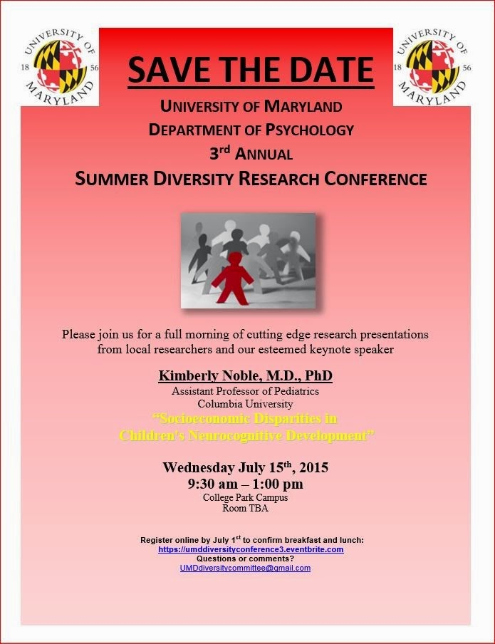 http://www.eventbrite.com/e/umd-department-of-psychology-3rd-annual-summer-diversity-conference-tickets-16285107194
