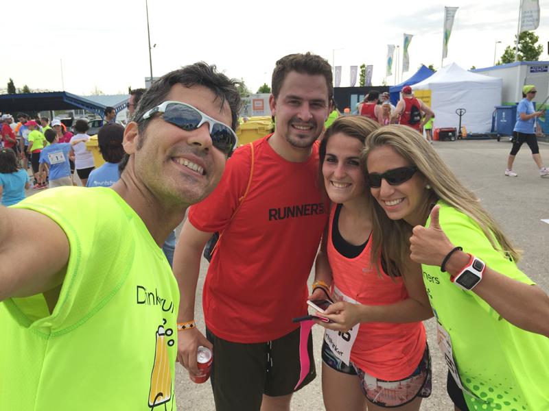 Carrera de los Drinking Runners Hortaleza 2015