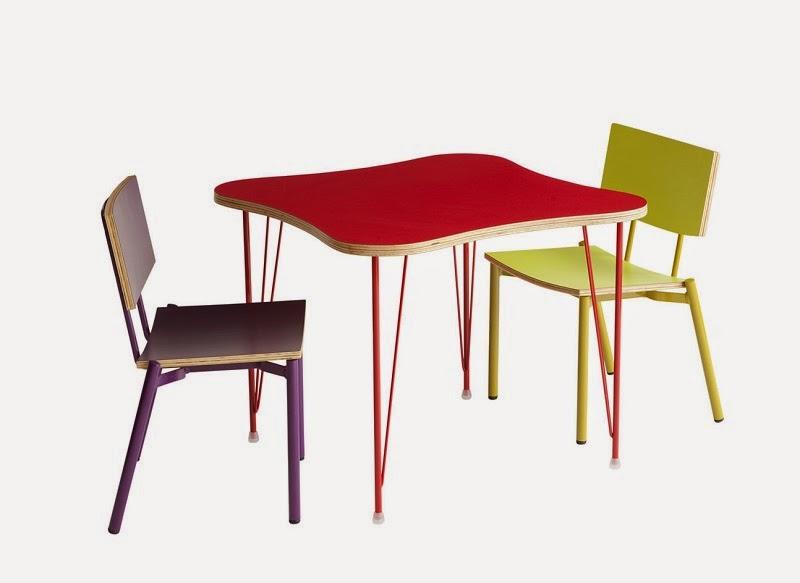 Mesinha Theo e Cadeiras Twist Mini - Fernando Jaeger