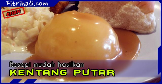 (Resepi) Kentang Putar Mashed Potato Homemade