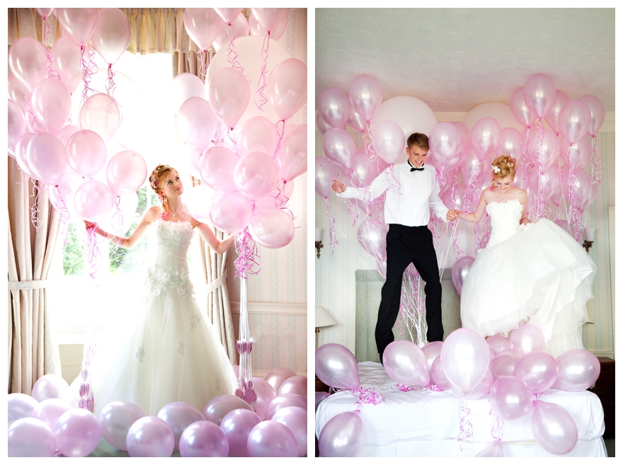 A Marie Antoinette Inspired Balloon Wedding Shoot - Part 2
