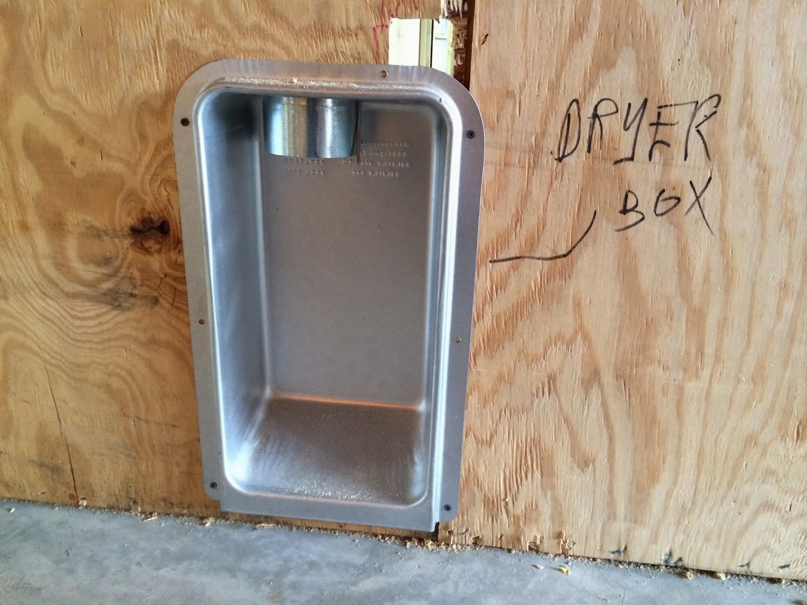 Cheap Trick Recessed Dryer Box Model 425 Review Fine Homebuilding