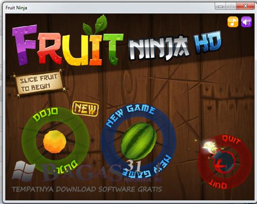 Fruit Ninja HD PC Version Portable 2