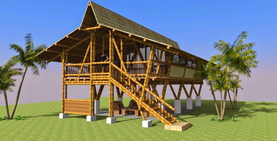 Guadua y bambu construcciones y dise o arkibambu - Fotos de bungalows de madera ...