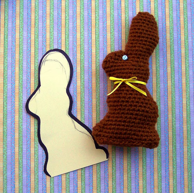 Delights gems crocheted chocolate easter bunny crocheted chocolate easter bunny ccuart Choice Image