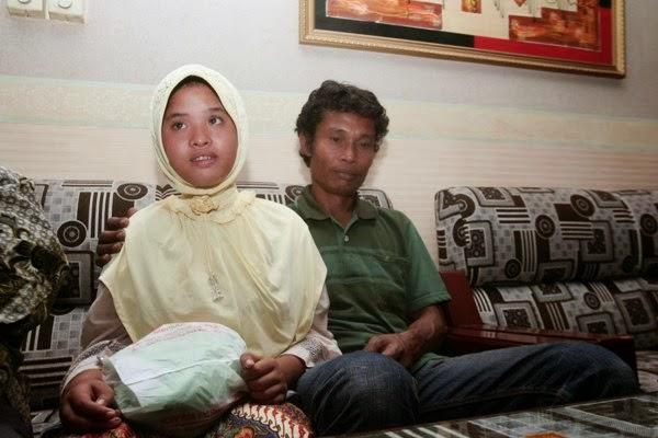Kisah Gadis Mangsa Tsunami Acheh Ditemui Selepas 7 Tahun