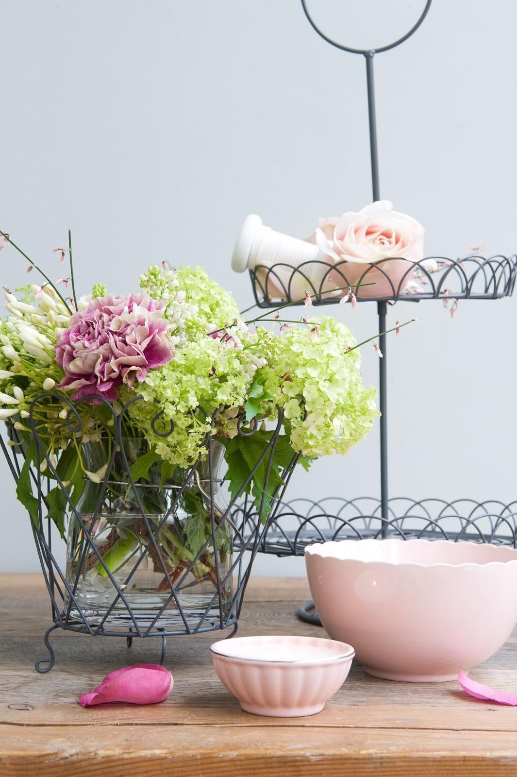 klok poeder roze