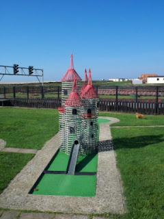 Crazy Golf at West Sands Holiday Park, Selsey, West Sussex