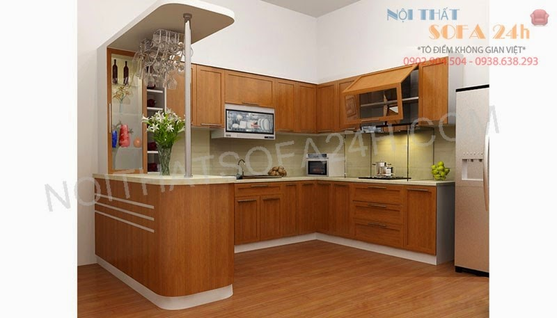 Tủ bếp TB048