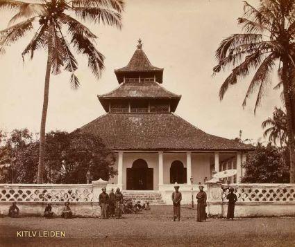 Masjid Manonjaya Tempo Doeloe