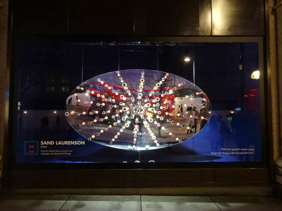 Selfridges Shopwindow Bright Old Things 2015 Sand Laurenson