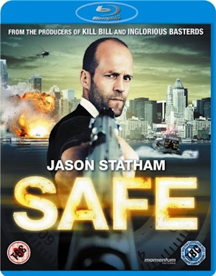 Safe (2012) 720 BRRip 858MB mkv Dual Audio
