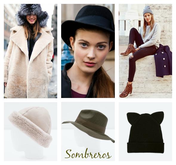 Moda sombreros accesorios otono invierno 2014 2015